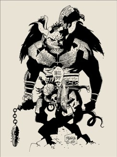 Mike Mignola - First Hellboy B
