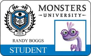 Monsters University ID - Boggs