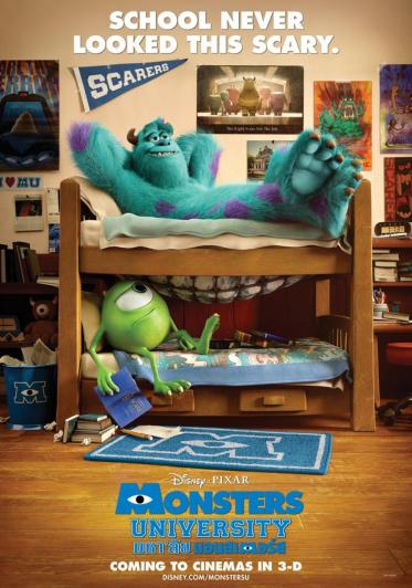 Monsters University International Poster