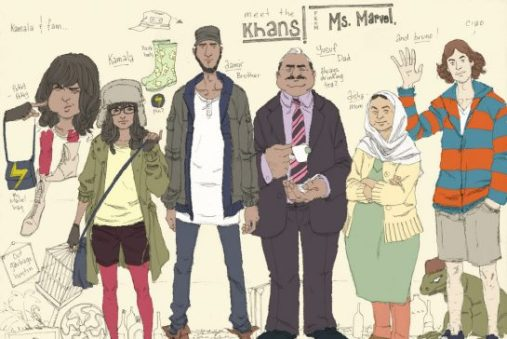 Ms Marvel Kamala Khan family