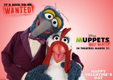 Muppets Most Wanted Gonzo Valentine