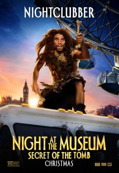 Night at the Museum - caveman