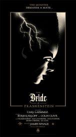 Olly Moss - Bride of Frankenstein