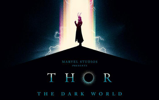 Olly Moss Thor Dark World header