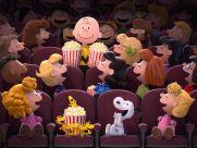Peanuts - movie theater