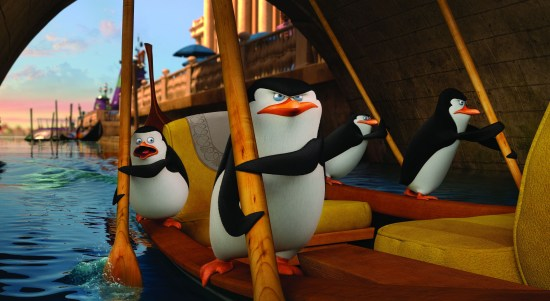 Penguins of Madagascar footage