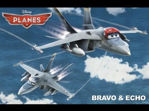 Planes - Bravo and Echo