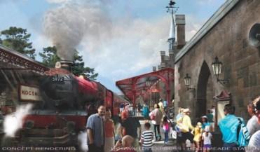 Potter Diagon Concept Hogsmeade