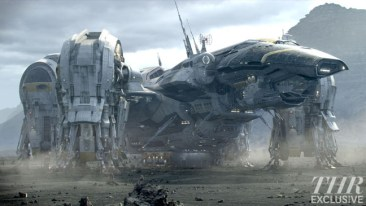 Prometheus still - spaceship