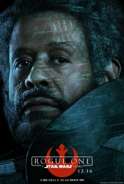 rogue one character poster saw gerrera