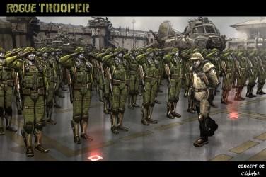 ROGUE TROOPER concept art