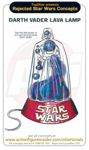 Rejected Star Wars - Lava Lamp