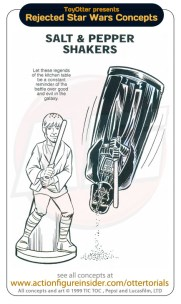 Rejected Star Wars - Salt Shakers