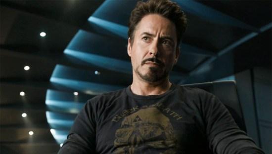 Robert Downey Jr in The Avengers
