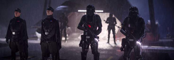 Rogue One A Star Wars Story - Imperial officers and Death Troopers