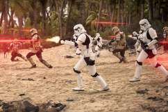 Rogue One A Star Wars Story - Scarif battle