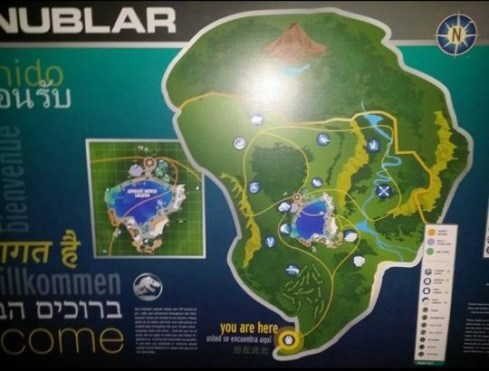 Rumor Jurassic World Map 1