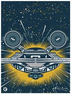 Star Trek Beyond collectors print Arclight
