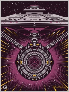 Star Trek Beyond collectors print Carmike