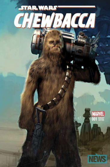 Star Wars Chewbacca Comic Book Series