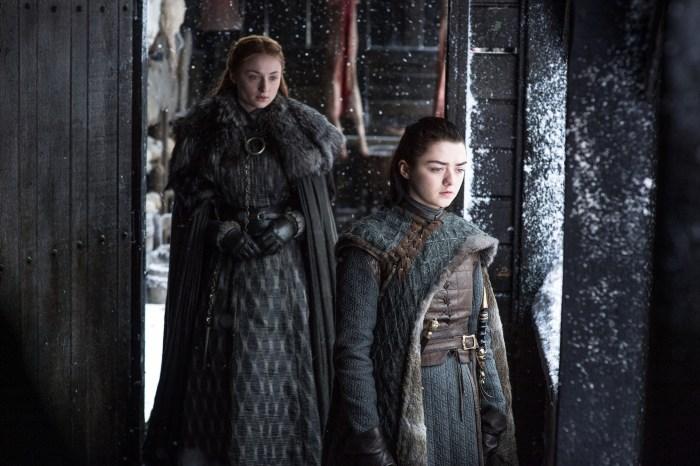 Sansa and Arya BTW