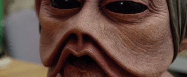 Star Wars: The Force Awakens: creature mask