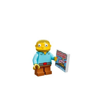 Simpsons Lego Minifigures