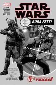 Star Wars 1 Daniel Acuna Heroes Fantasies BW