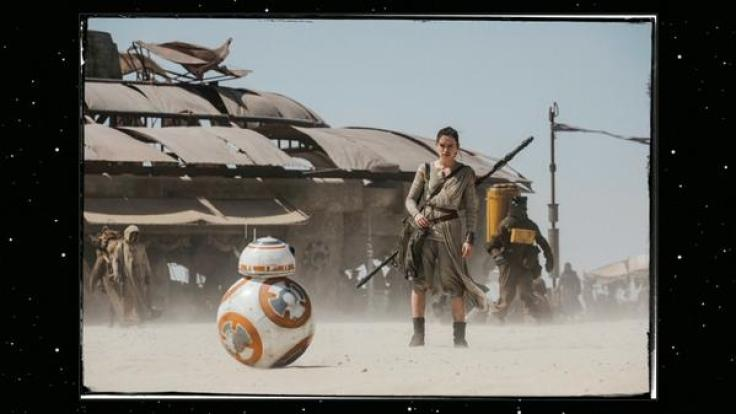 Star Wars 7 images - Daisy Ridley as Rey