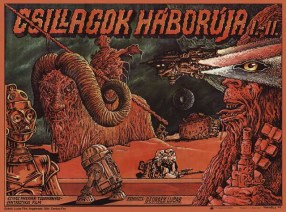 Star Wars Hungary poster