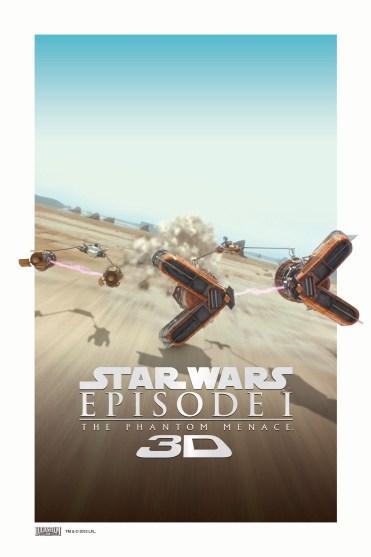 Star Wars Phantom Menace 3D 4