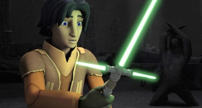 Star Wars Rebels Season 2 Trailer cross guard lightsaber