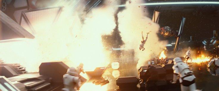 Star Wars The Force Awakens battle