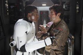 Star Wars The Force Awakens finn poe dameron