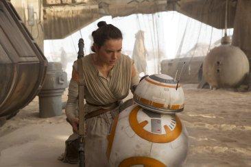 Star Wars The Force Awakens rey bb-8