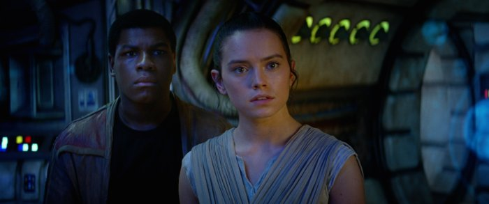 Star Wars The Force Awakens rey finn