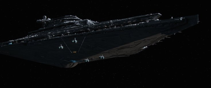 Star Wars The Force Awakens star destroyer 2