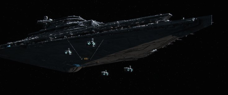 Star Wars The Force Awakens star destroyer