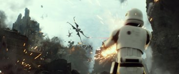 Star Wars The Force Awakens x-wing stormtrooper