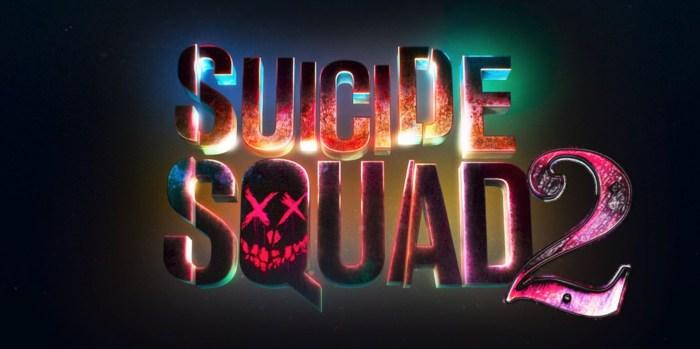 Suicide Squad 2 logo