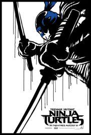 Teenage Mutant Ninja Turtle Street Poster Leonardo