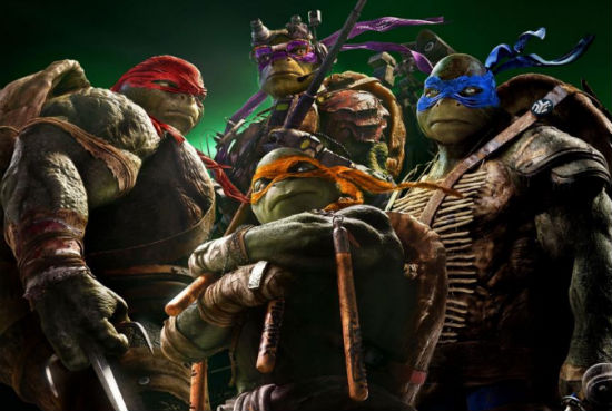 Teenage Mutant Ninja Turtles Poster header 2