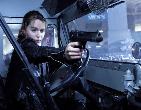 Terminator Genisys Empire - Emilia Clarke as Sarah Connor