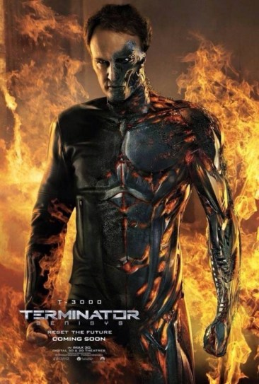 Terminator Genisys T-3000 Character Poster