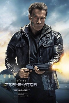 Terminator Genisys T-800 Character Poster