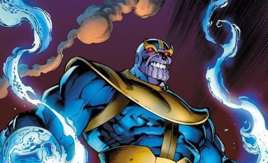 Thanos Avengers comic