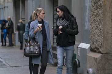 The Defenders - Trish Walker and Jessica Jones