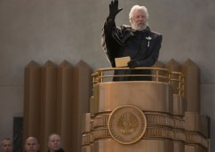 The Hunger Games Catching Fire - Donald Sutherland as President Snow