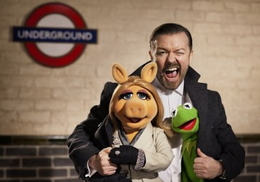 The Muppets Again - Ricky Gervais