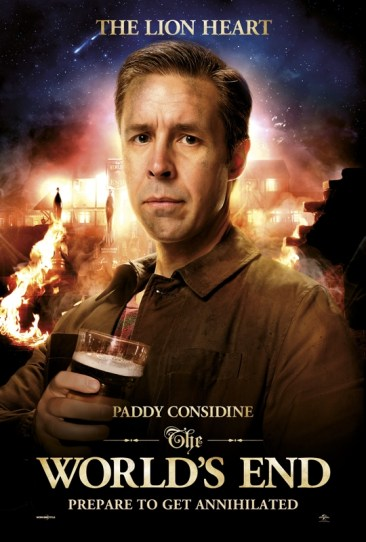 The Worlds End - The Lion Heart (Paddy Considine)